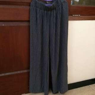 kulot pleated grey