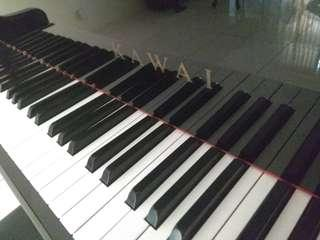 Kawai upright grand piano