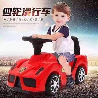 Red Ferrari Tolocar Push Car Ride On Car