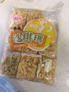 香港生沙琪瑪,惠康鹽,壽桃牌非油炸番茄麵