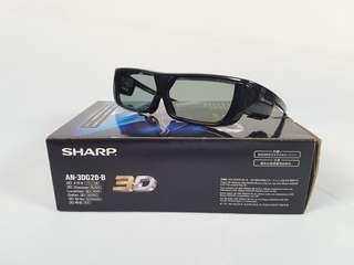 SHARP AN-3D620-B 3D Glasses