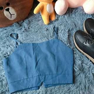 🚚 Blue Spag Top