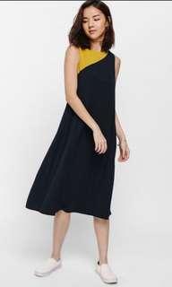 Love Bonito Molda Colourblock Midi Tent Dress