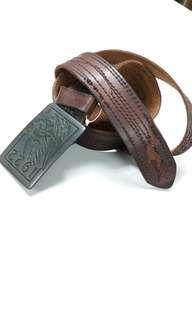 Hollister Vintage Leather Belt NEW