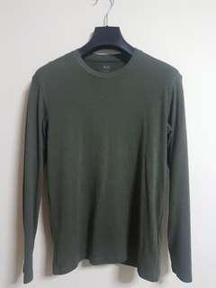 Uniqlo Olive Green Pullover