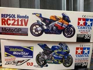 1/12 Tamiya Honda RC211V motorcycle kit
