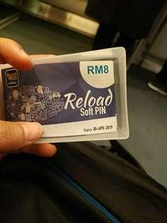 Free Touch N Go e-wallet RM8