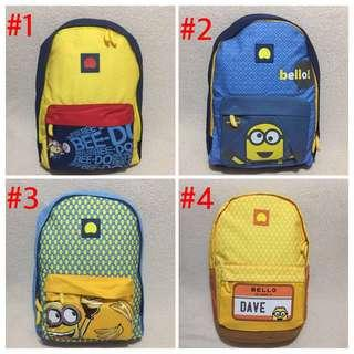 Authentic Delsey Minion Backpack