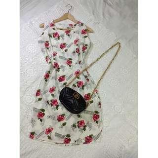 B8-V136: Floral Dress