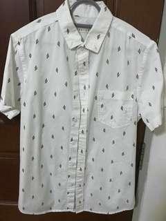 White pattern Shirt