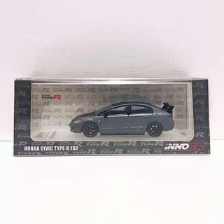 全新未拆 Inno64 x AEON 香港限定版 Hong Kong Edition HONDA CIVIC TYPE-R FD2 (HK984)