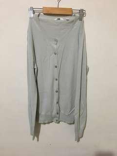 Uniqlo灰色針織外套