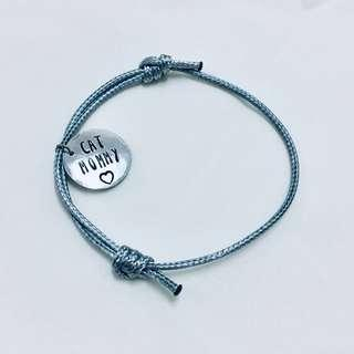 Cat Mommy/Daddy Surfer's Bracelet