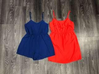 Size S Romper / Size M Dress