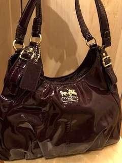 Authentic Coach Purple handbag