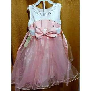Dress import premium anak perempuan