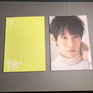 NCT 127 DOYOUNG KIM - POSTER AND PLANNER OFFICIAL SEASONS GREETINGS 2018