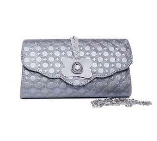 DOMPET#Grey Synthetic