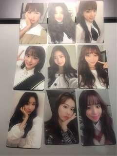 [ Supplier Instocks ] Iz*one Colour*iz Offical Photocards