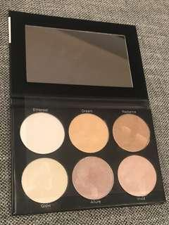 BH Cosmetics highlighter palette