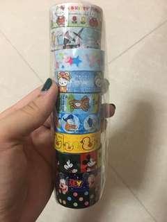 Cartoon tape