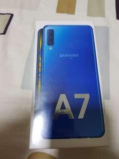 Samsung Galaxy A7 (Blue)