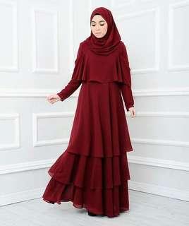 2 pcs of Inayah Dress by Fatin Suhana