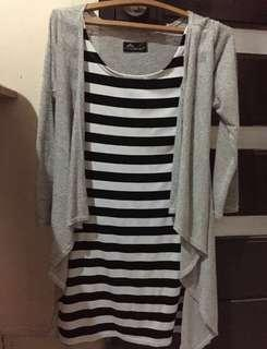 Top (Stripes) + Outer