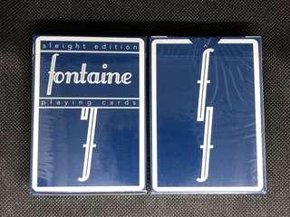 Sleight Fontaine Playing Cards 啤牌 撲克牌
