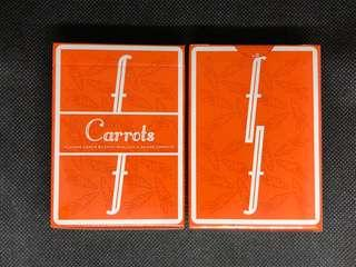 Carrots Fontaine Playing Cards 啤牌 撲克牌