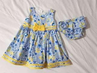 Baby dress with panty