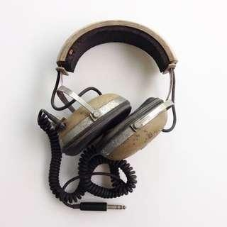 Vintage Headphones - KOSS PRO/4AA, 1970 - for parts or repair or collection