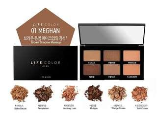 It's Skin Life Color Eye Palette #Meghan