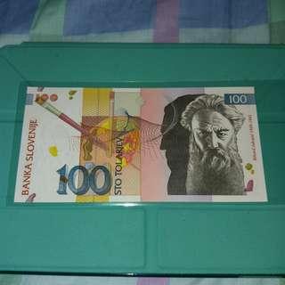 [歲晚清貨] 2003 斯洛文尼亞100托拉爾