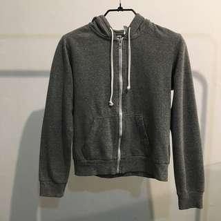 H&m basic hoodie grey
