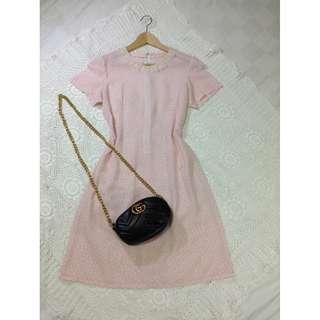 B8-V146: Ligth baby pink dress