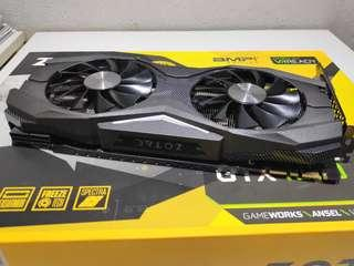 Zotac Amp edition gtx 1070 8gb gaming GPU