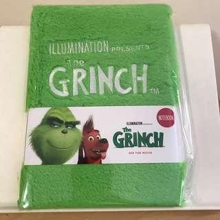 The Grinch 2018 Furry Notebook