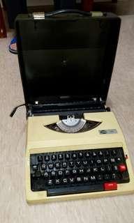 🚚 英文打字機