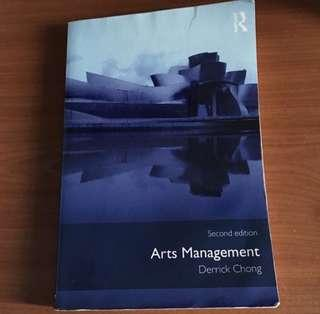 Introduction to Arts and Culture Management Textbook ACM003 SMU