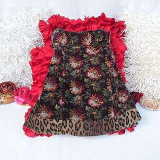 Authentic Nanette Lepore Floral Skirt