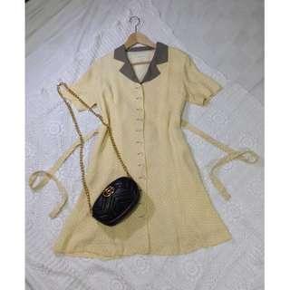 B8-V153: Collared Dress
