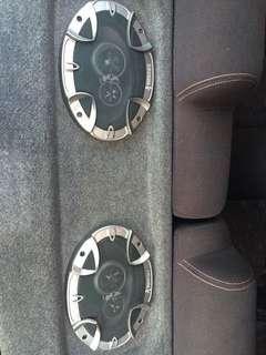 Mohawk speaker set
