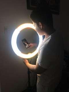"""FOR RENT: Original Prestigio New York 18"""" Dimmable LED Ring Light"""