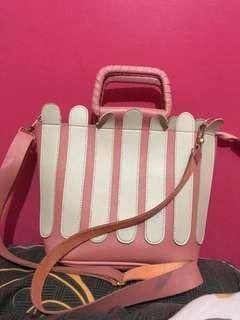 Tas baby pink cute