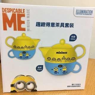 Minion茶壺連杯套裝