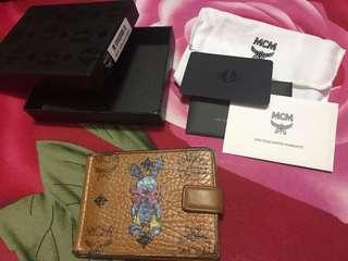 MCM money clip wallet