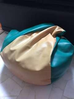 REPRICED!!! Leather Bean Bag