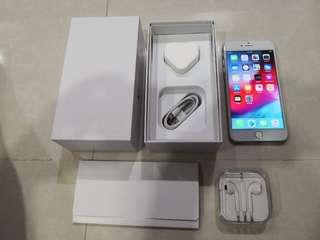 Beautiful Full Box Silver iPhone 6 Plus, 64GB (No Touch ID)