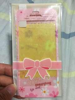 Iphone 5/5s flower screen protector